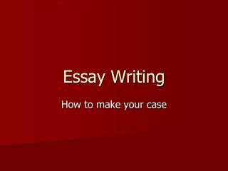 Writing The Common App Essay Introduction - Studential Ltd